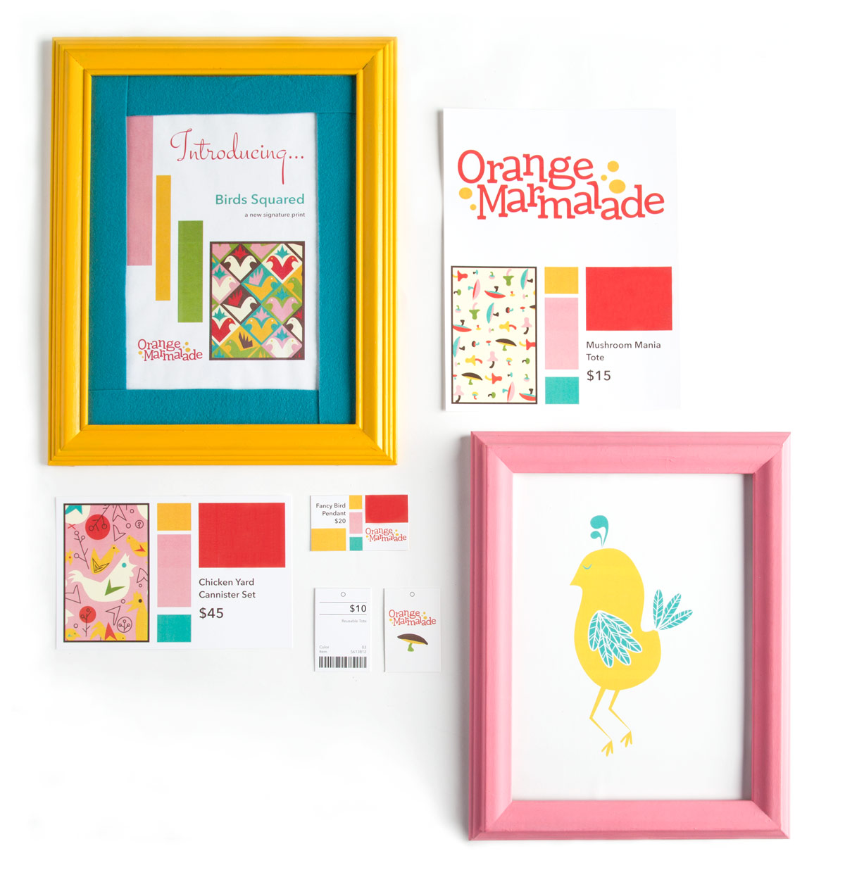 Margaret Darcher Kimberly Jacobs Orange Marmalade Signage Package